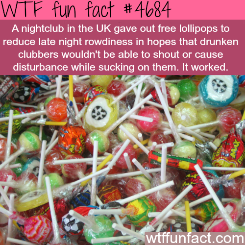 How a UK nightclub reduced shouting by drunk people - WTF fun facts