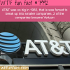 how big is att wtf fun fact