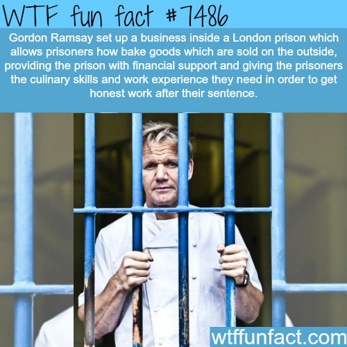How Gordon Ramsay is helping a London prison inmates - FACTS