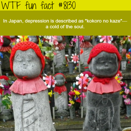 How Japan describes depression - WTF fun facts