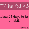 how long does it take to develop a habit