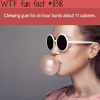 how many calories does chewing gum burn wtf fun