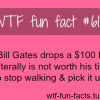 how much does bill gate make