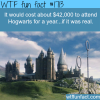 how much hogwarts costs per year
