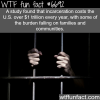how much the us spend on incarceration wtf fun