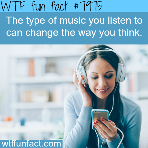 How music can effect your brain - WTF fun fact