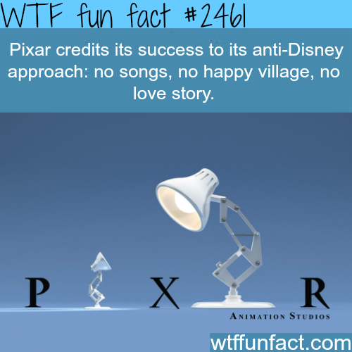 How Pixar became successful - WTF fun facts