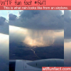 how rain looks like from an airplane wtf fun