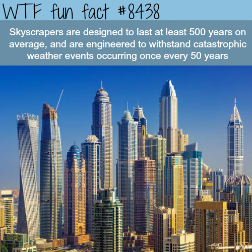 How stable are skyscrapers - WTF fun facts