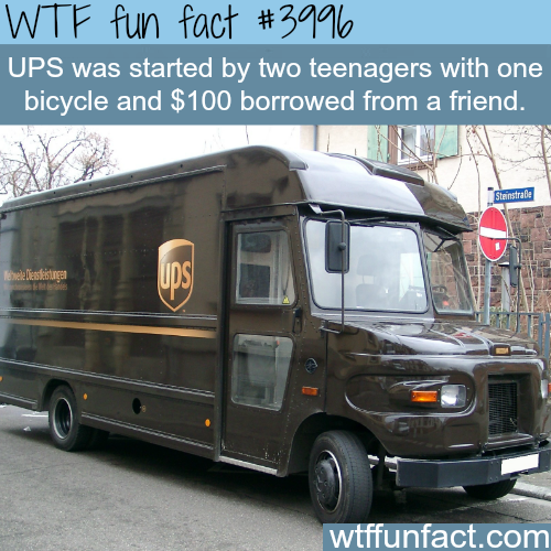 How the largest package delivery company started - WTF fun facts
