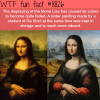 how the mona lisa actually looked like wtf fun