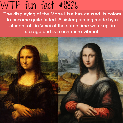 How the Mona Lisa actually looked like - WTF fun facts