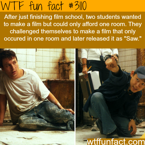 "How the movie ""Saw"" was created -  WTF fun facts"