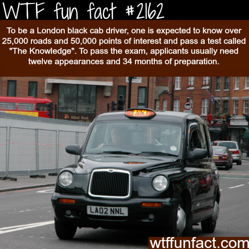 How to Become a London Black Cab Driver - WTF fun facts