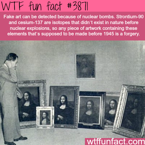 How to detect fake art - WTF fun facts