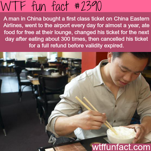 How to get food for free! - WTF fun facts