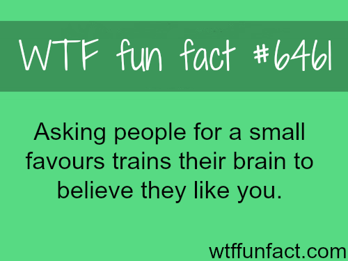 How to make people like you - WTF fun facts