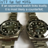 how to tell if a watch is fake wtf fun facts