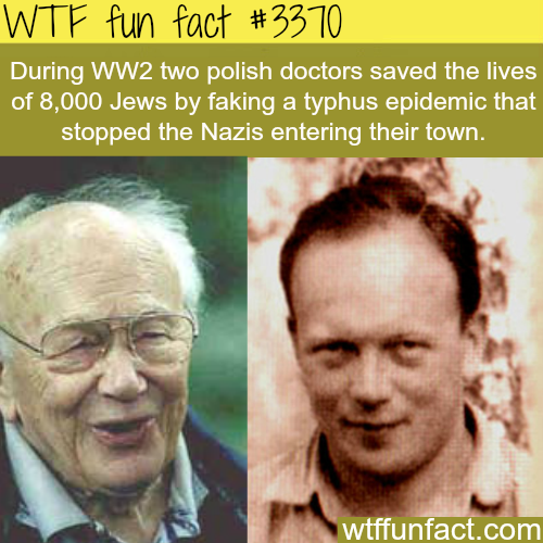 How two polish doctors saved 8000 Jews from Nazis - WTF fun facts