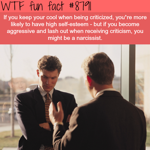 How you handle criticism can say a lot about your personality - WTF fun facts