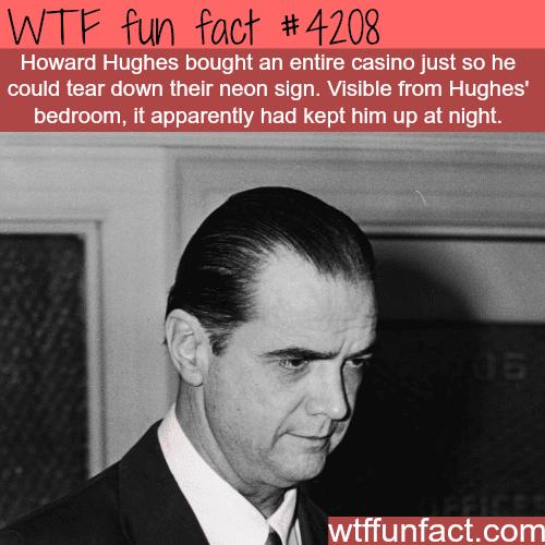 Howard Hughes facts -  WTF fun facts