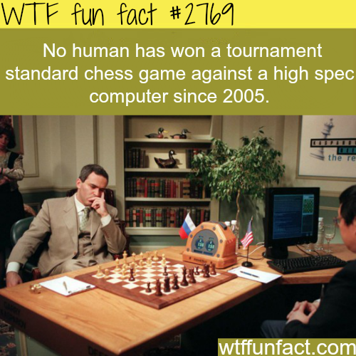 Human VS Computer in chess game - WTF fun facts
