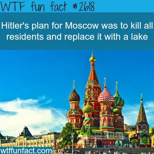 If Hitler won the war… -WTF funfacts