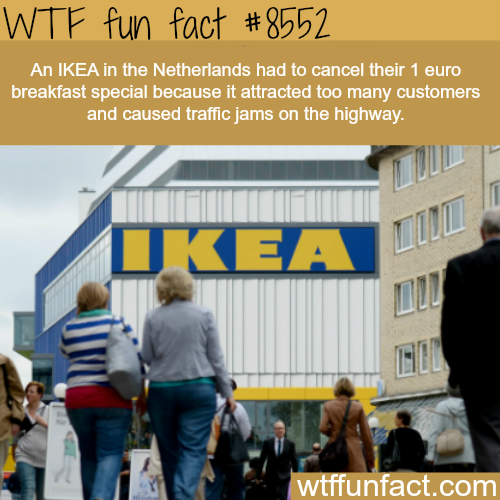 IKEA - WTF fun facts