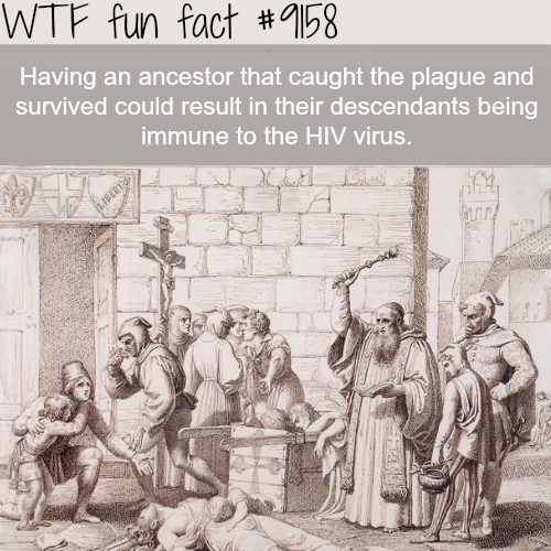 Immune to the HIV Virus - WTF Fun Facts
