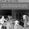 in 1949 an official boxing match