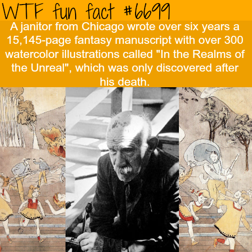 In the Realms of the Unreal - WTF fun fact
