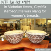 in victorian times cupids kettledrums was slang