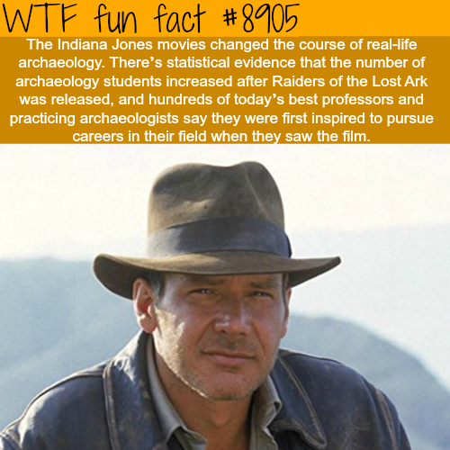 Indiana Jones - WTF fun facts