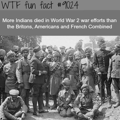 Indians in WW2 - WTF fun facts