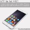 iphone 6 sales wtf fun facts