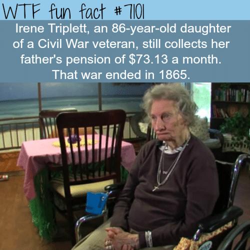 Irene Triplett - WTF fun facts