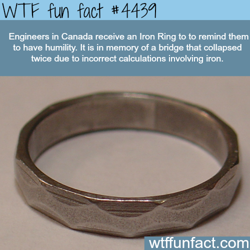 Iron ring -   WTF fun facts
