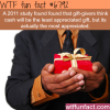 is cash as a gift a bad idea wtf fun fact