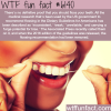 is flossing your teeth beneficial wtf fun facts