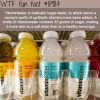 is vitaminwater healthy for you wtf fun fact