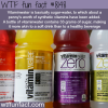 is vitaminwater healthy wtf fun fact