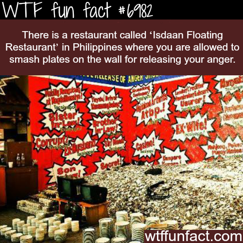 Isdaan Floating Restaurant - WTF fun fact
