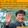 jackie chan s family history
