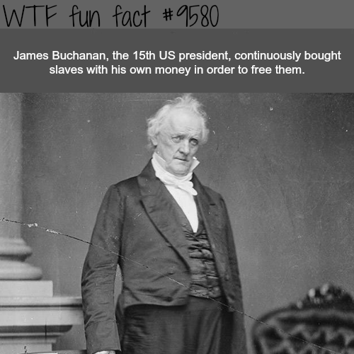 James Buchanan - WTF fun fact