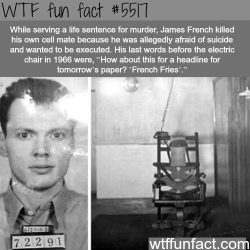 James French - WTF fun facts