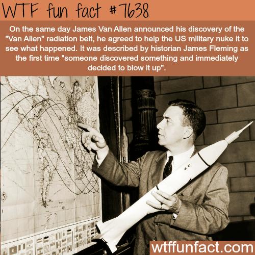 James Van Allen - WTF FUN FACTS