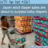 japan s adult diaper sales