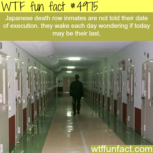 Japanese prison facts - WTF fun facts
