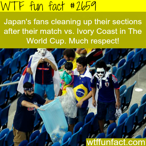 Japan's fans in Brazil