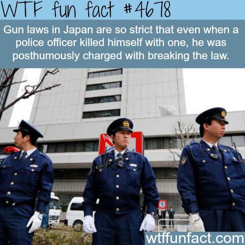 Japan's gun laws - WTF fun facts